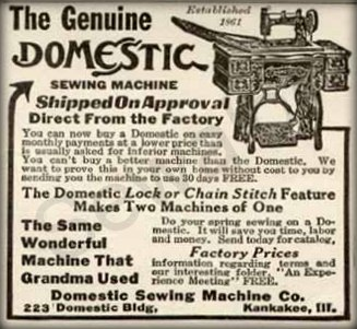 Domestic Sewing Machine Sewalot