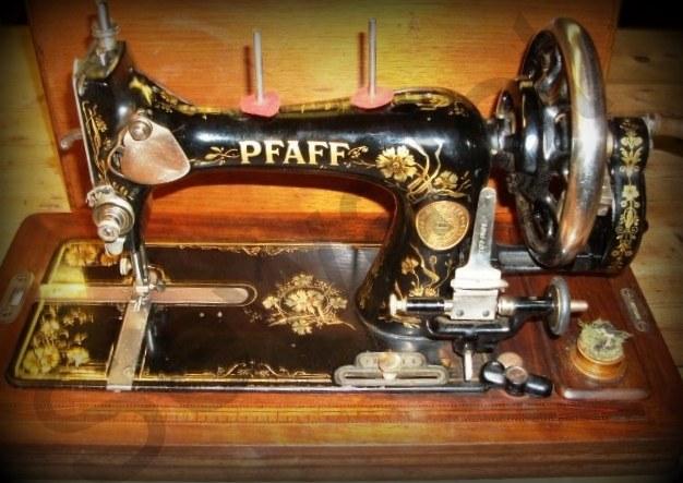Vintage Domestic Sewing Machine Pussy Shots Big Bro
