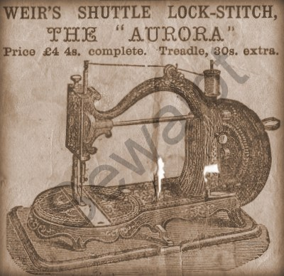 JAMES GALLOWAY WEIR CHAS RAYMOND SEWING MACHINES J G WEIR WEIR Fascinating Discovery Kids Sewing Machine