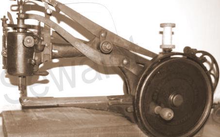 BRADBURY SEWING MACHINES Magnificent Vintage Leather Sewing Machine