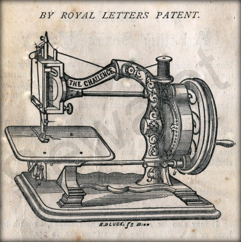CHALLENGE SEWING MACHINE SEWALOT Cool Picture Of The First Sewing Machine