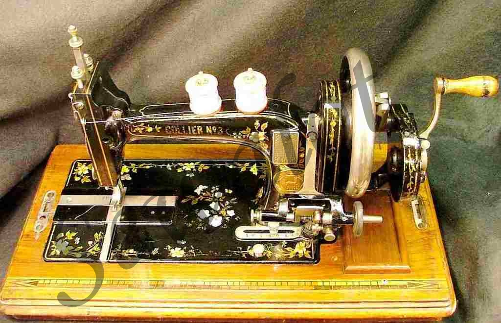 COLLIER SEWING MACHINESSEWALOT Amazing Old Sewing Machines Brands