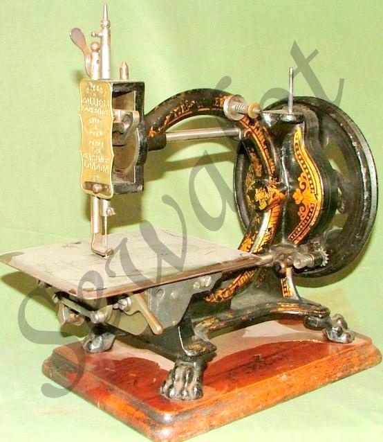 collier sewing machines sewalot. Black Bedroom Furniture Sets. Home Design Ideas