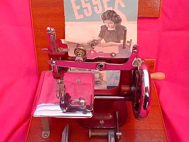 ESSEX SEWING MACHINE Essex Sewing Machine ESSEX TOY SEWING MACHINE Unique Sewing Machine Mechanic Jobs Uk