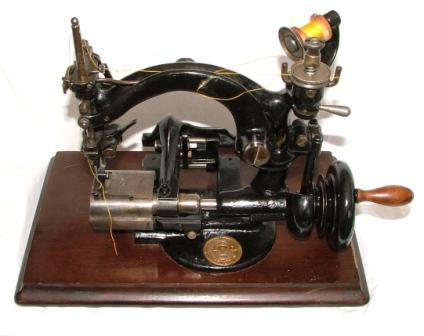 sewing machine for hats