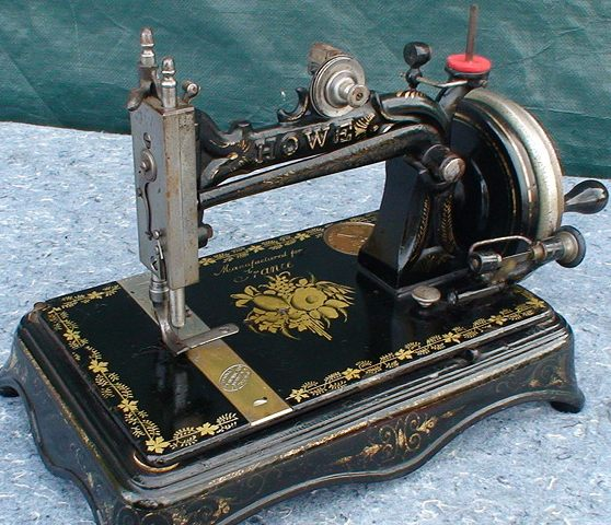 ELIAS HOWE INVENTOR OF THE SEWING MACHINE Amazing How Was The First Sewing Machine Made