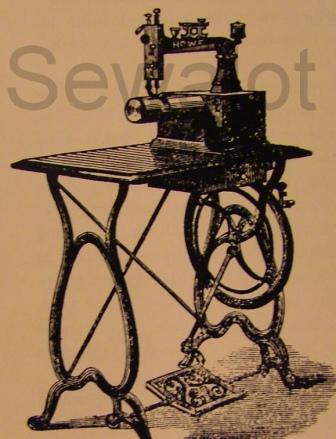 ELIAS HOWE, INVENTOR OF THE SEWING MACHINE