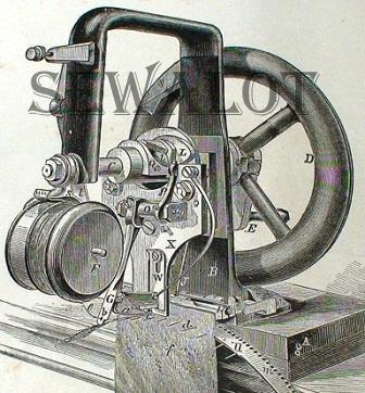 ELIAS HOWE INVENTOR OF THE SEWING MACHINE Beauteous How Was The First Sewing Machine Made