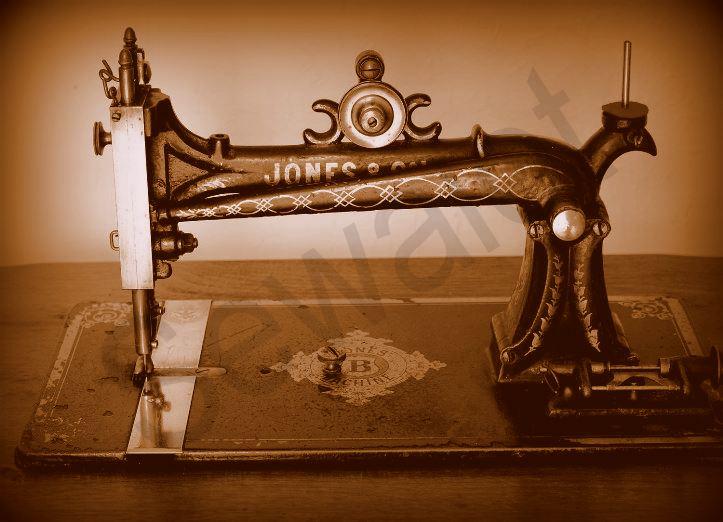 JONES SEWING MACHINE Fascinating Jones Cb Sewing Machine