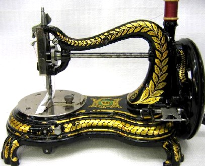 JONES SEWING MACHINE Awesome History Of The Sewing Machine