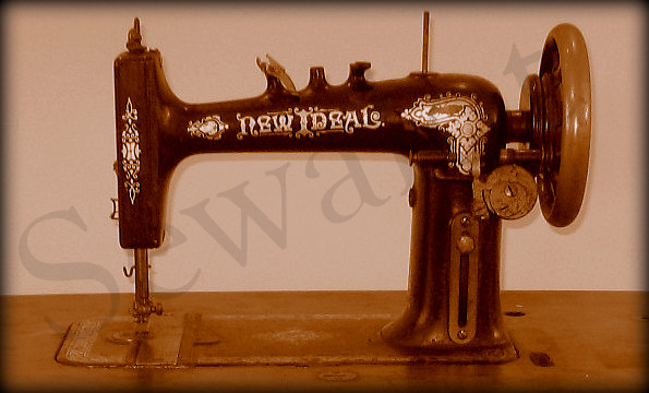IDEAL SEWING MACHINE SEWALOT Custom Myers Sewing Machine