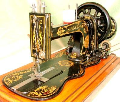 SINGER MODEL 40 SEWING MACHINE SINGER NEW FAMILY SEWING MACHINE Stunning The Singer Company Sewing Machines
