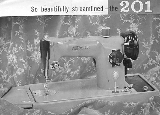 SINGER 40 SINGER 40K Awesome Singer Sewing Machine Model 201 Value