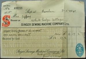 singer sewing machine headquarters