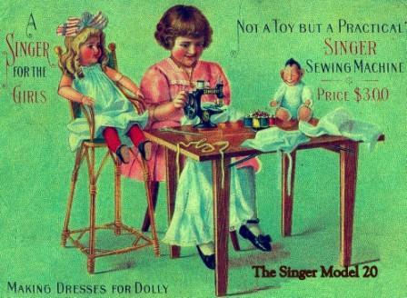 Phrase Singer sewing vintage ads remarkable