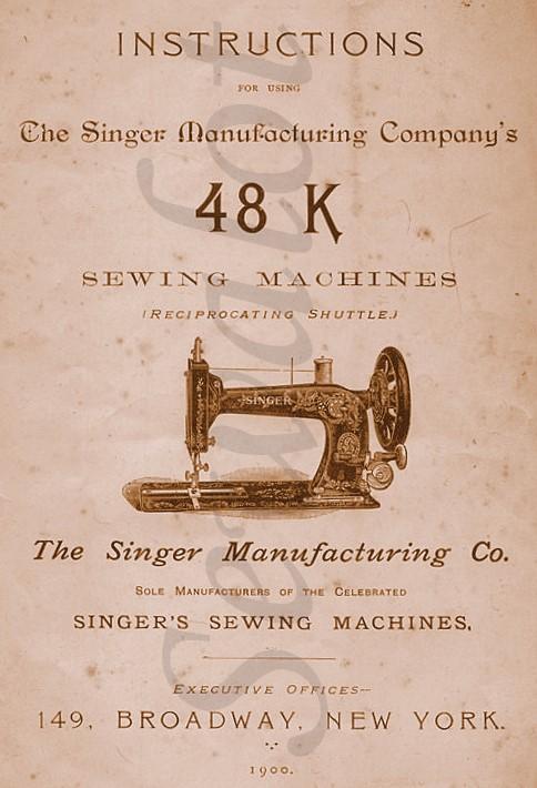 SINGER 48K, SINGER 48, SEWALOT