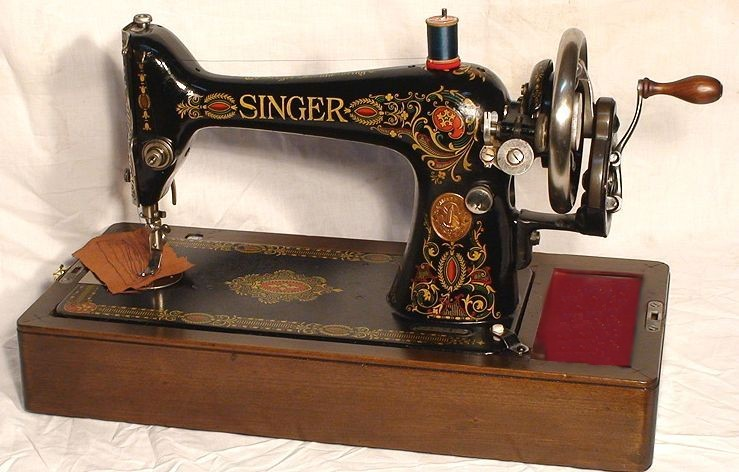 Red Eye Singer Sewing Machine