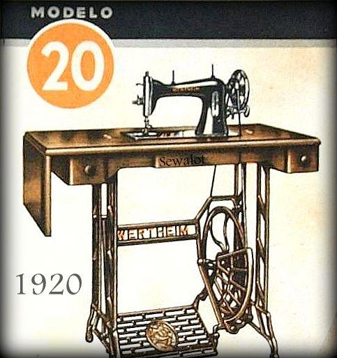 WERTHEIM SUPERBA SEWING MACHINE SEWALOT Delectable American Sewing Machine Co St Charles Mo