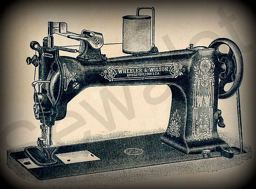 WHEELER WILSON SEWALOT Delectable Used Leather Sewing Machines For Sale In Texas