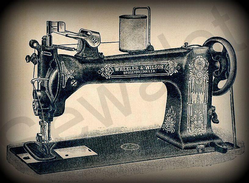 WHEELER WILSON SEWALOT Fascinating Big Lots Sewing Machine