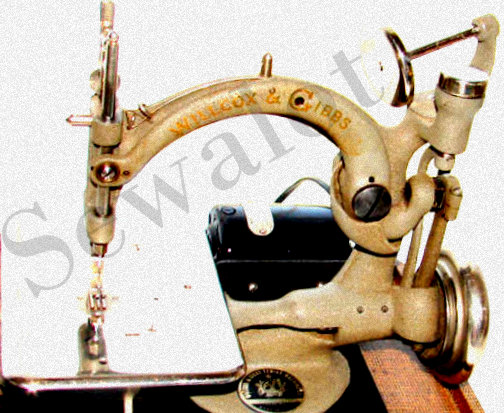 WILLCOX GIBBS WILLCOX GIBBS CHAIN STITCH SEWING MACHINE WG Awesome Willcox And Gibbs Sewing Machine